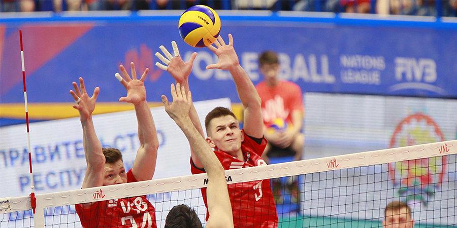 Русские волейболисты вшаге отвыхода наОлимпиаду