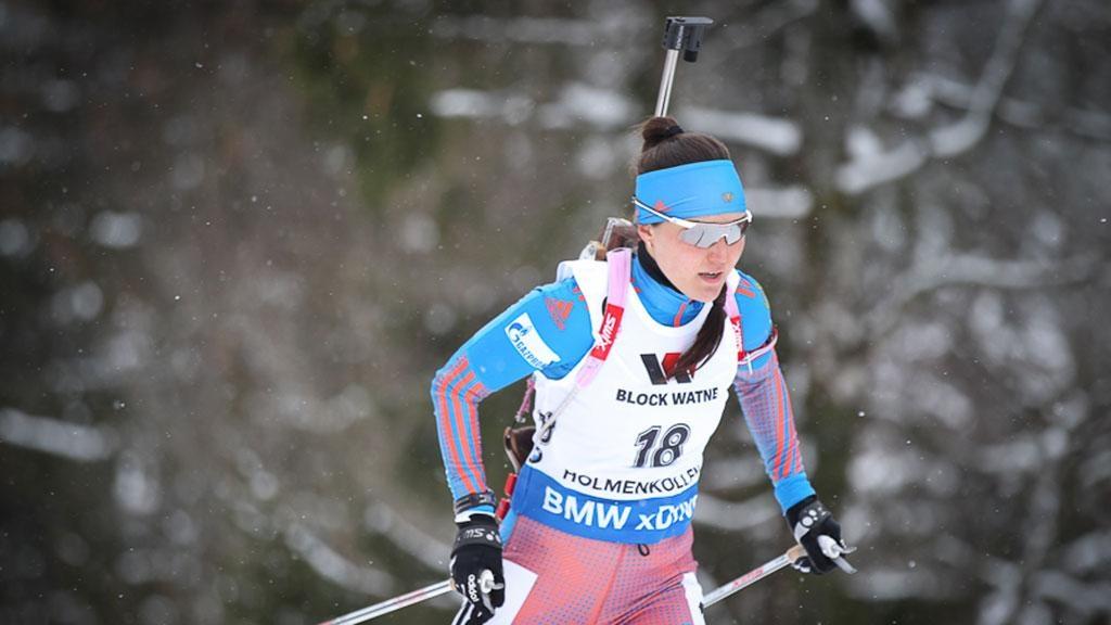 Акимова— победитель спринтерской гонкиКМ побиатлону