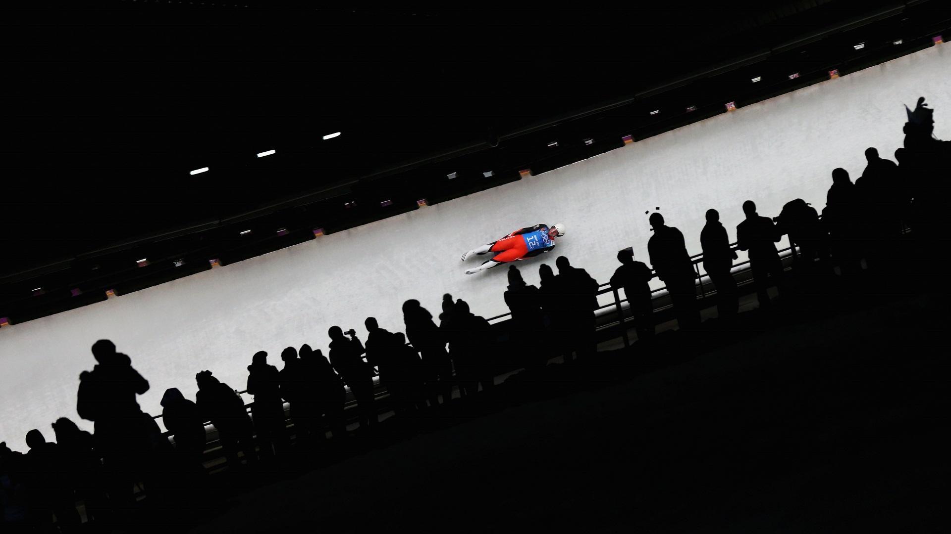 Русские саночники оформили дубль наамериканском этапе Кубка мира