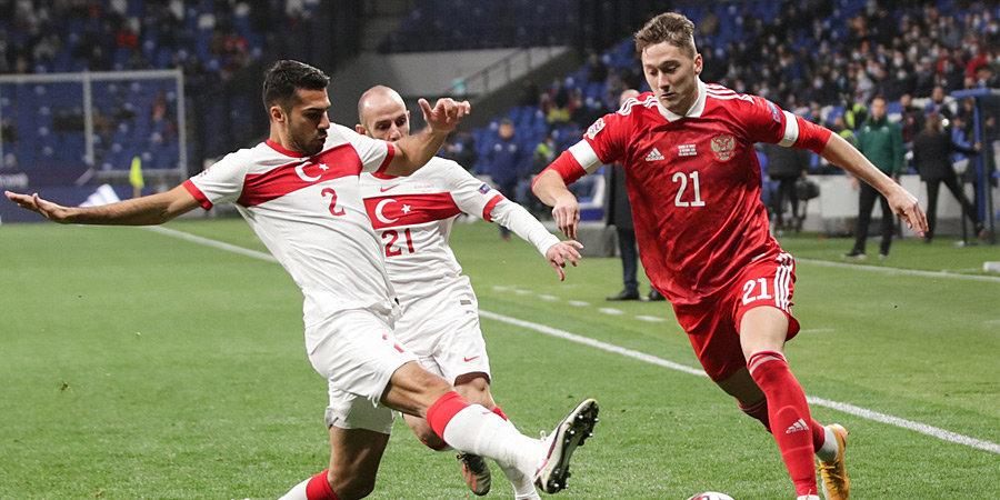 Двоечники и троечники. Как пользователи Sportbox.ru оценили сборную в матче с Турцией