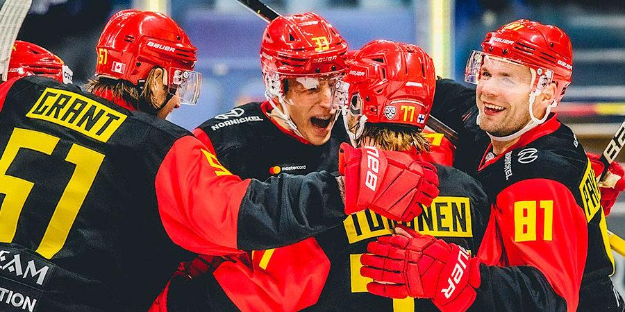 «Йокерит» одержал восьмую подряд победу в КХЛ