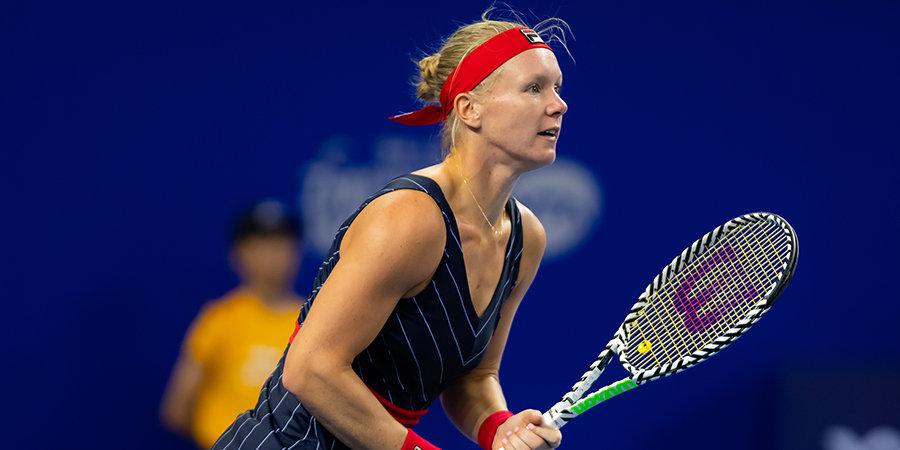 «Этот замечательный трофей снова мой. Я более чем счастлива». Бертенс — о победе на турнире WTA в Санкт-Петербурге