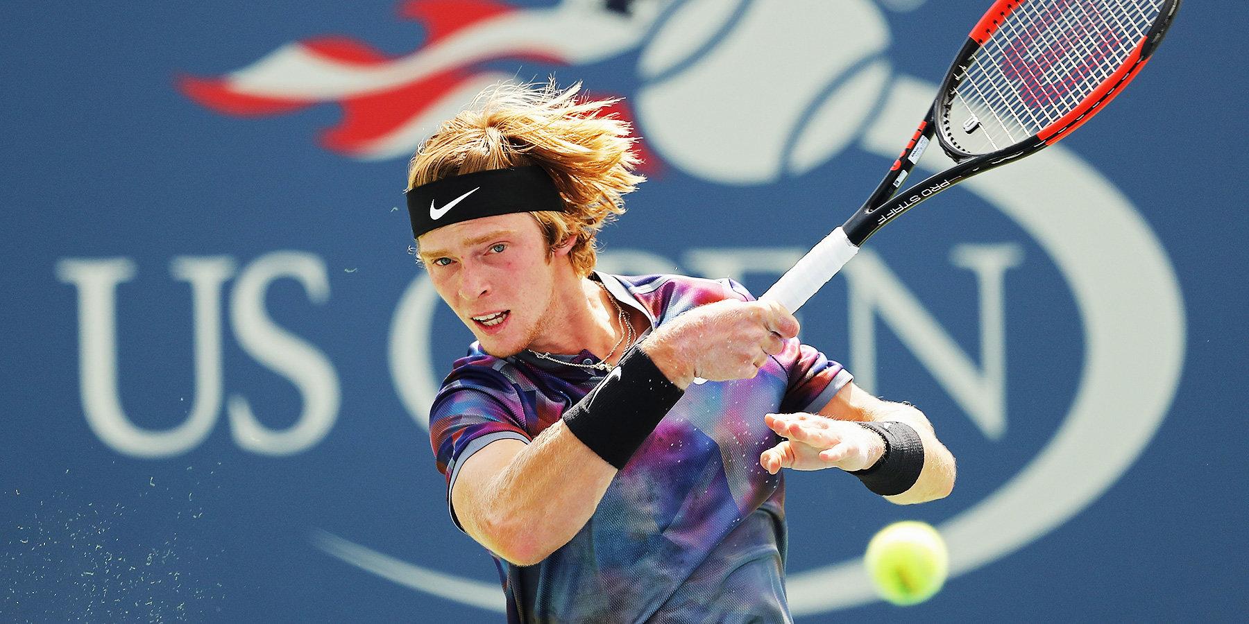 Рублёв прилетел в США для участия в US Open