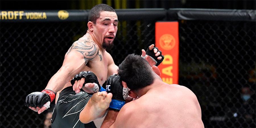 Уиттакер победил Гастелума на турнире UFC в Лас-Вегасе