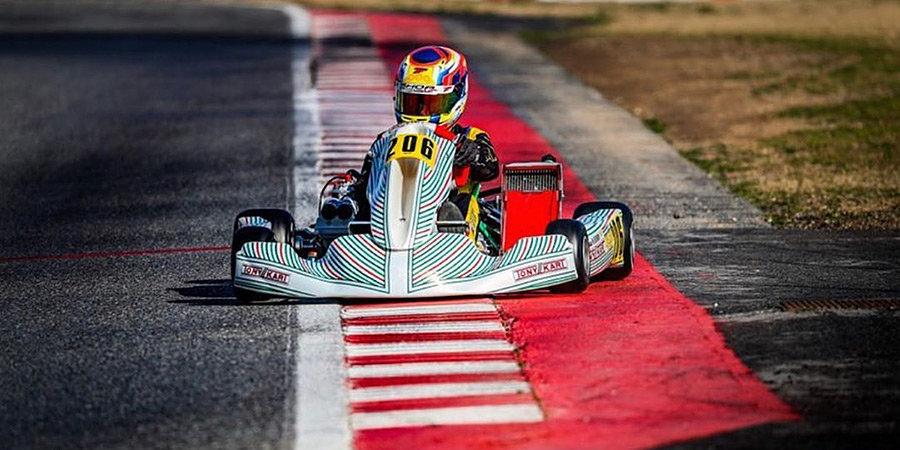 14-летний пилот стал первым российским чемпионом WSK Super Master Series