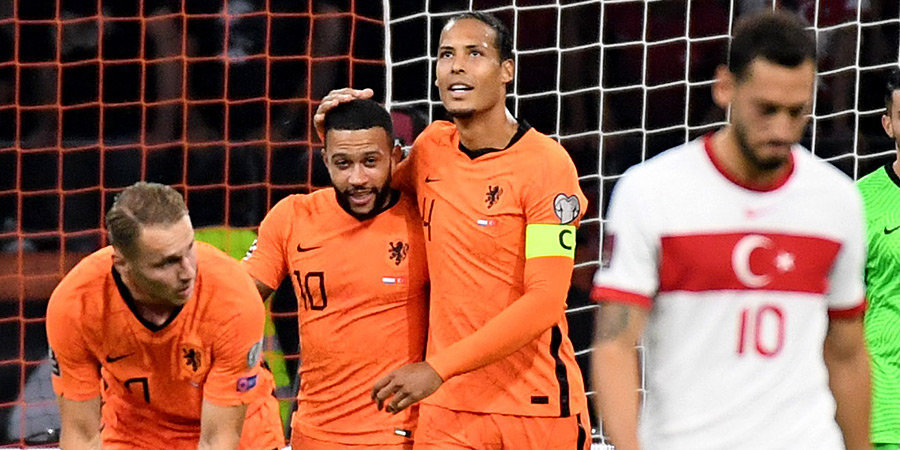 Депай повторил рекорд Клюйверта по количеству голов за сборную Нидерландов в календарном году
