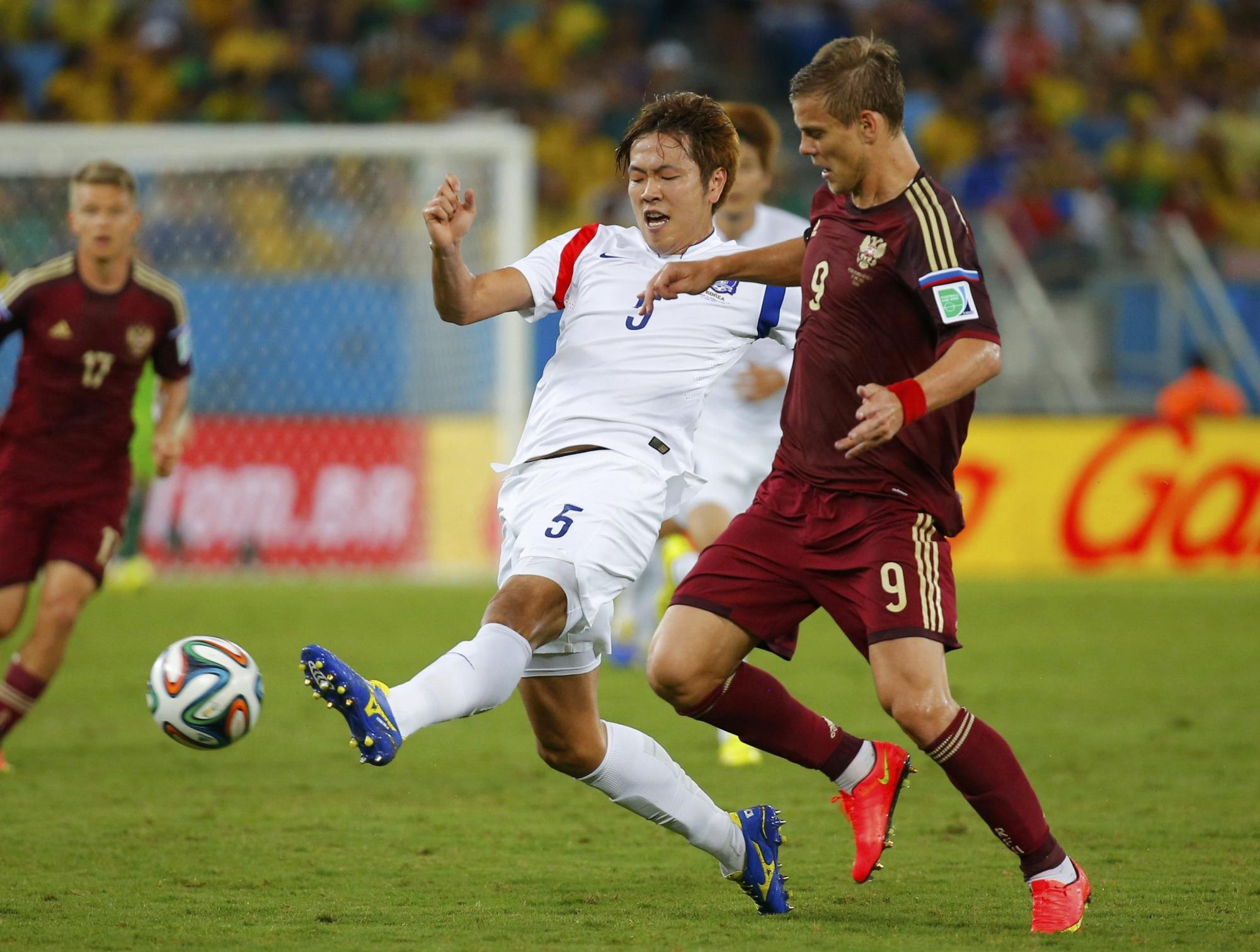 чемпионат мира по футболу 2014 россия и корея