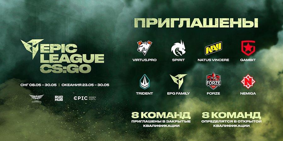 ФКС России и Epic Esports Events проведут первый RMR-турнир 2021 года