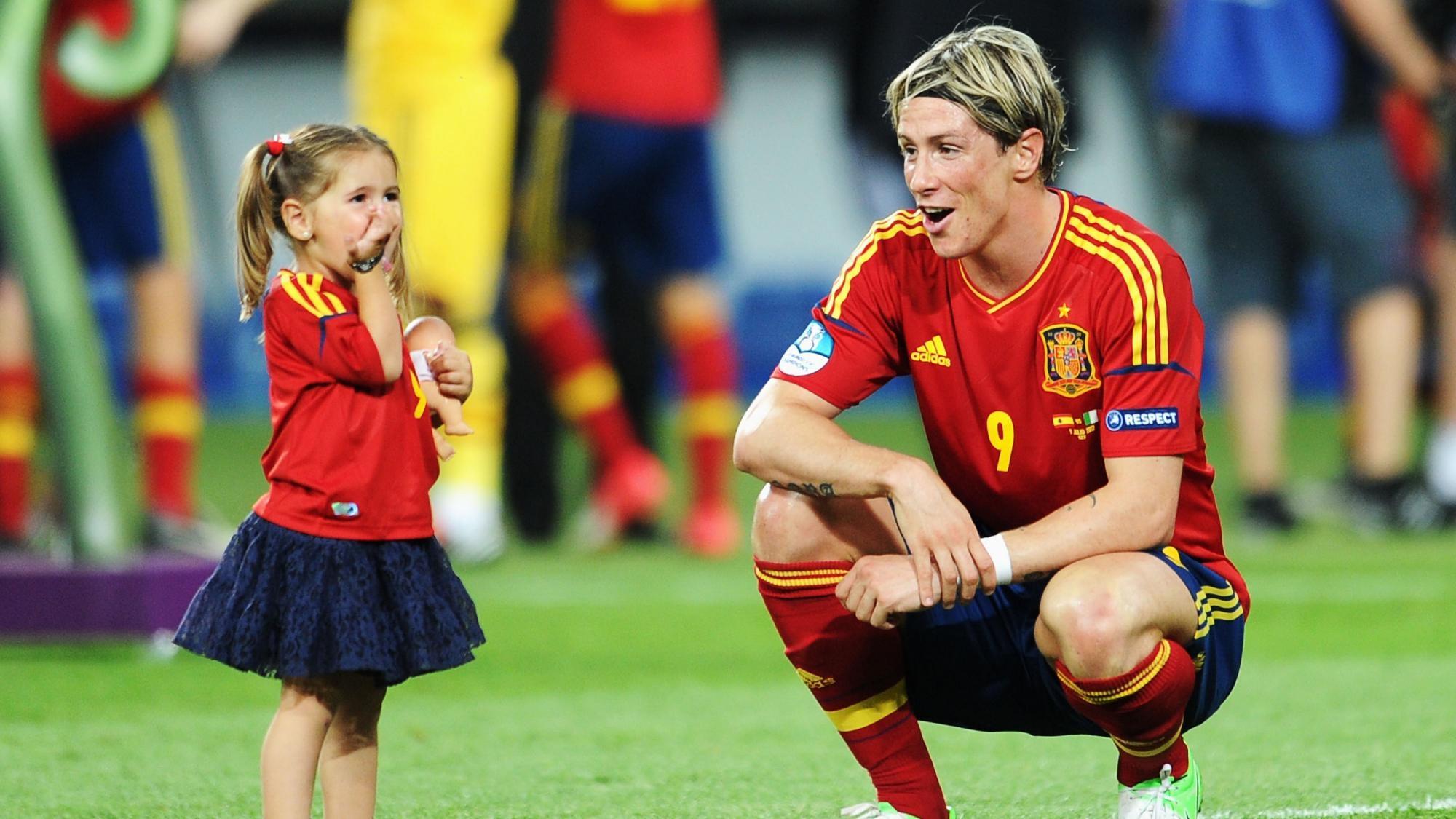 Испания футбол торрес