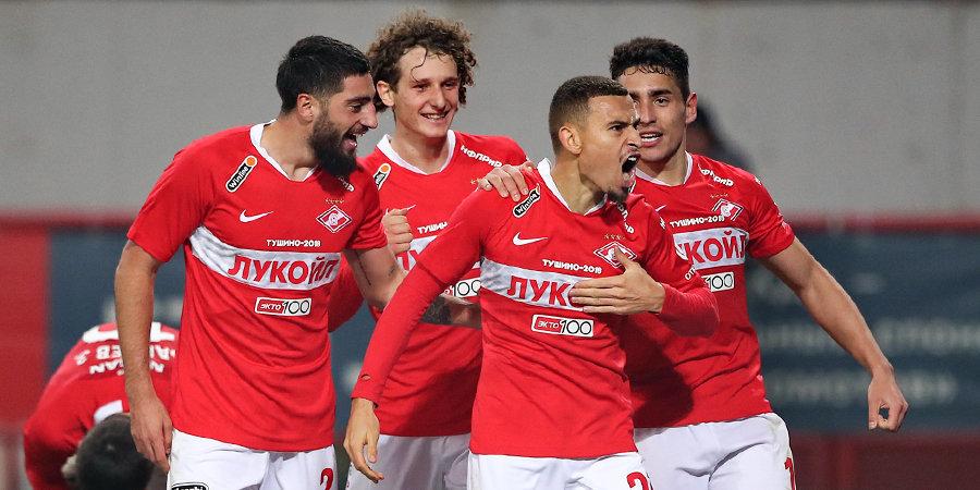 Красно-белый Ларссон забил «Локомотиву» два гола – один стал лучшим в туре!