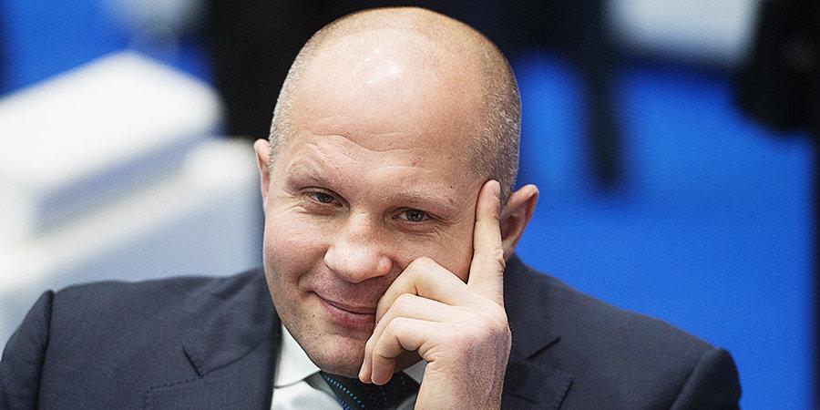 Емельяненко может завершить карьеру боем в Москве