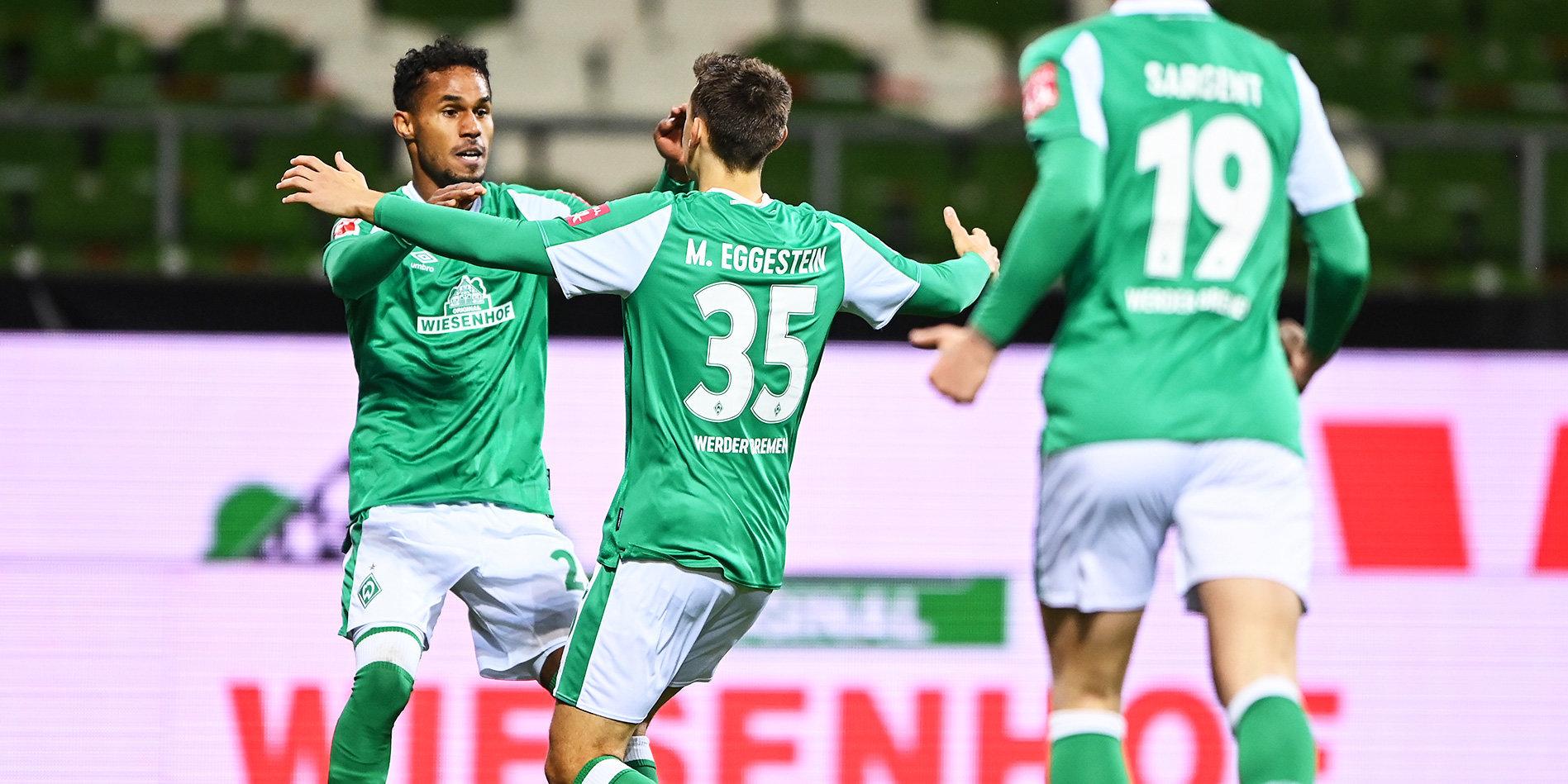 «Вердер» обыграл «Ян Регенсбург» и стал последним полуфиналистом Кубка Германии