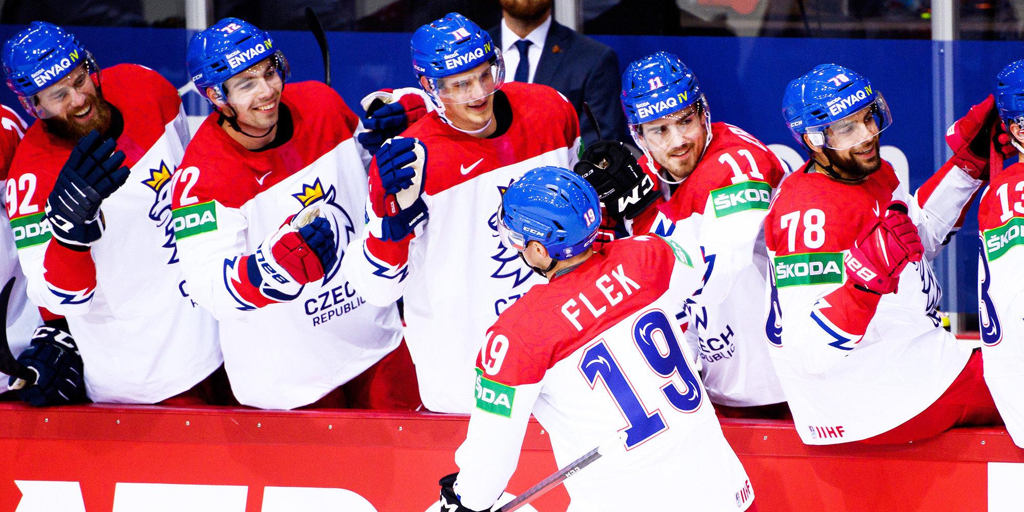 Чехия победила Швецию на чемпионате мира. Финляндия обыграла Италию