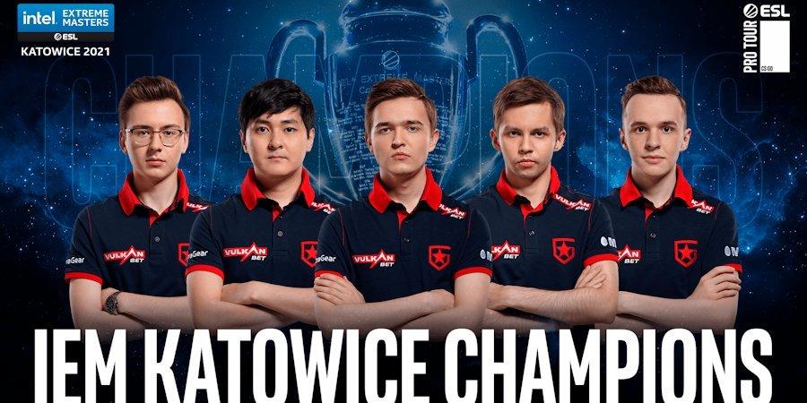 Российская команда выиграла 400 тысяч долларов на турнире по CS:GO