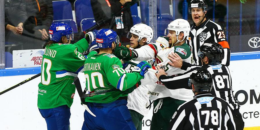 «Ак Барс» победил «Салават Юлаев» по буллитам в КХЛ