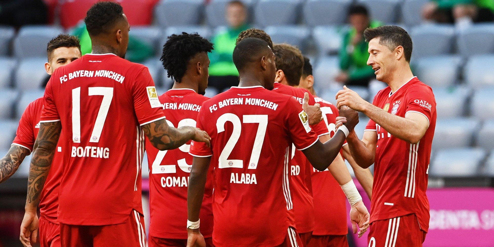 «Бавария» в гостях разгромила «Лейпциг»
