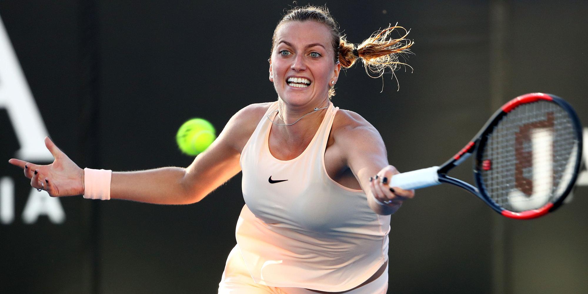 Квитова вышла в финал турнира WTA в Сиднее