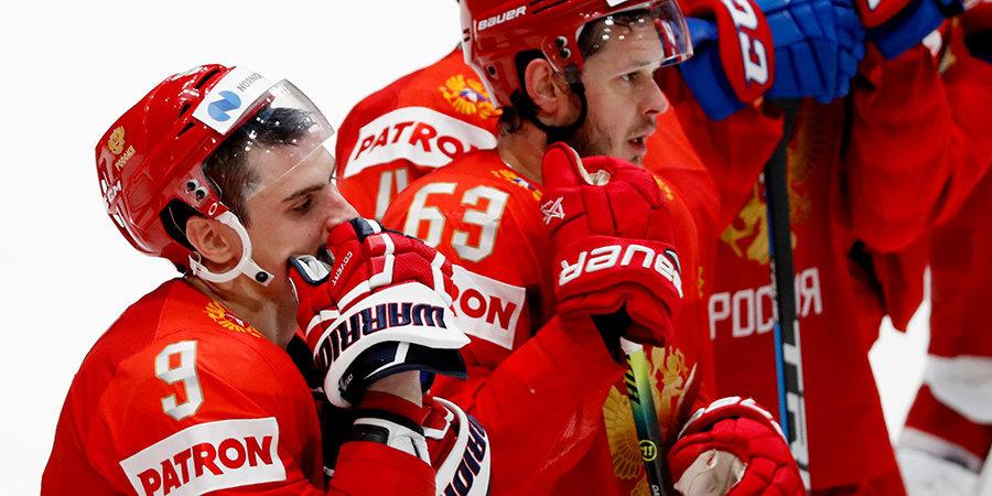 Кучеров, Орлов и Василевский стали лучшими игроками сборной России на ЧМ в Словакии