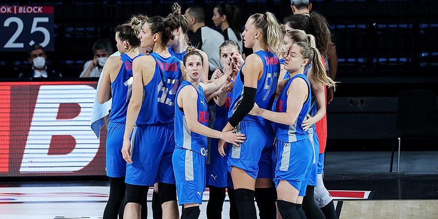 Сборная России вышла в четвертьфинал Евробаскета-2021