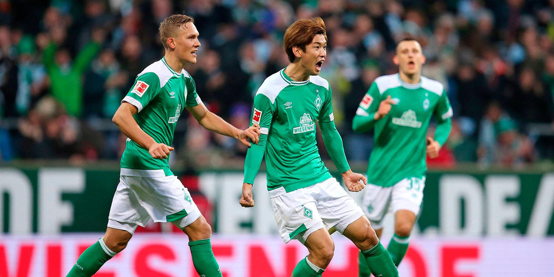 Футбол аугсбург вердер бремен