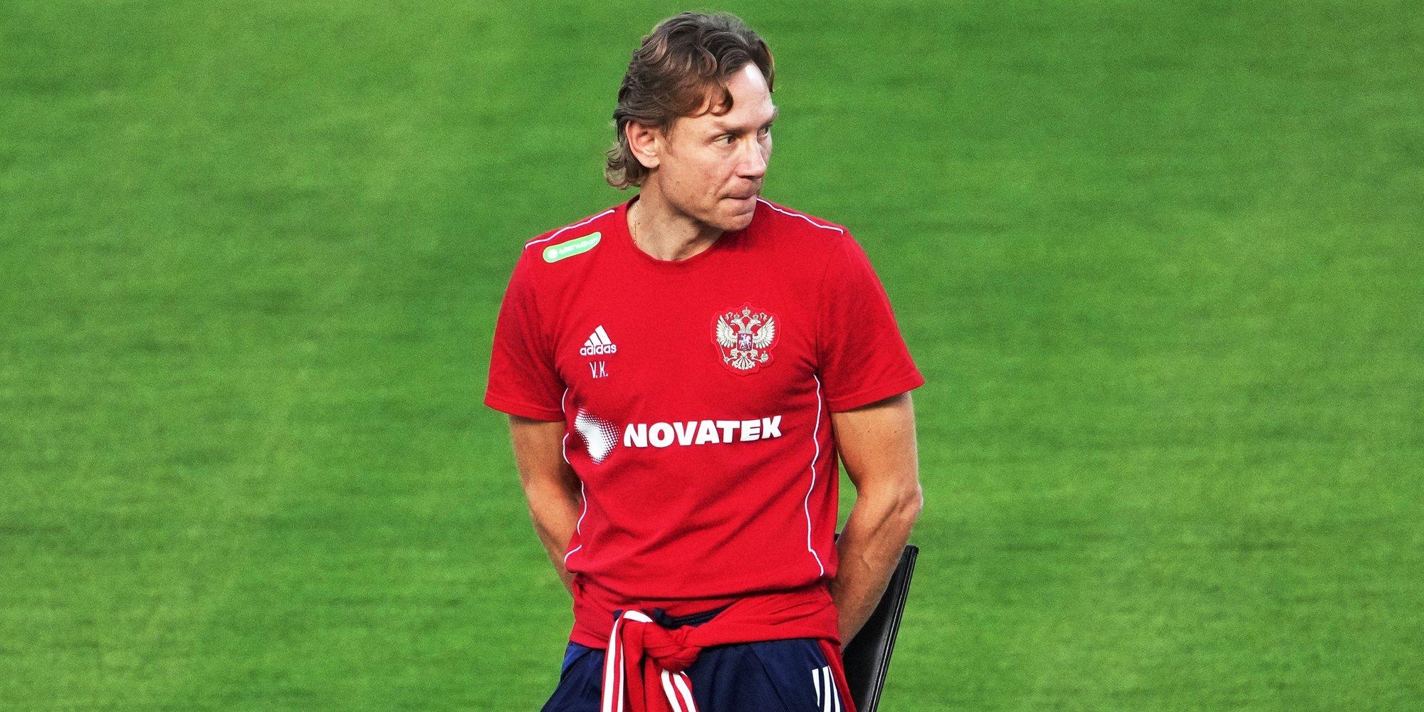 Валерий Карпин — перед матчем со Словакией: «С учетом кадровых проблем лучше я сыграю»