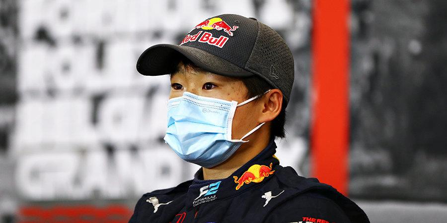 Цунода взял поул на последнем этапе «Формулы-2» в сезоне, Мазепин — второй