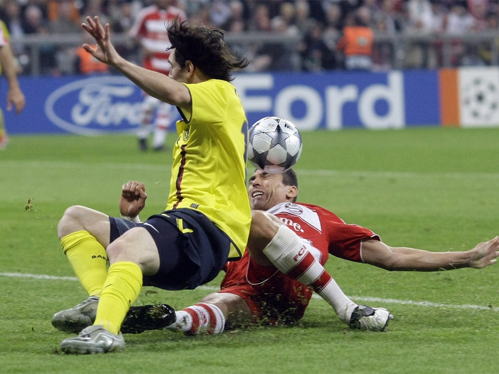 Футбол бавария германия барселона испания