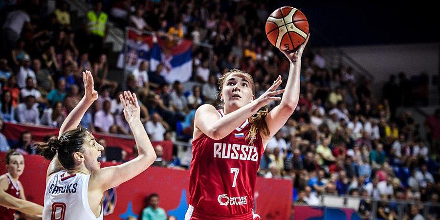 Мария Вадеева: «Сейчас в сборной России идет смена поколений, и поэтому мы выступаем неплохо»