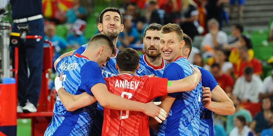 Мужской чемпионат Европы по волейболу пройдет с 1 по 19 сентября