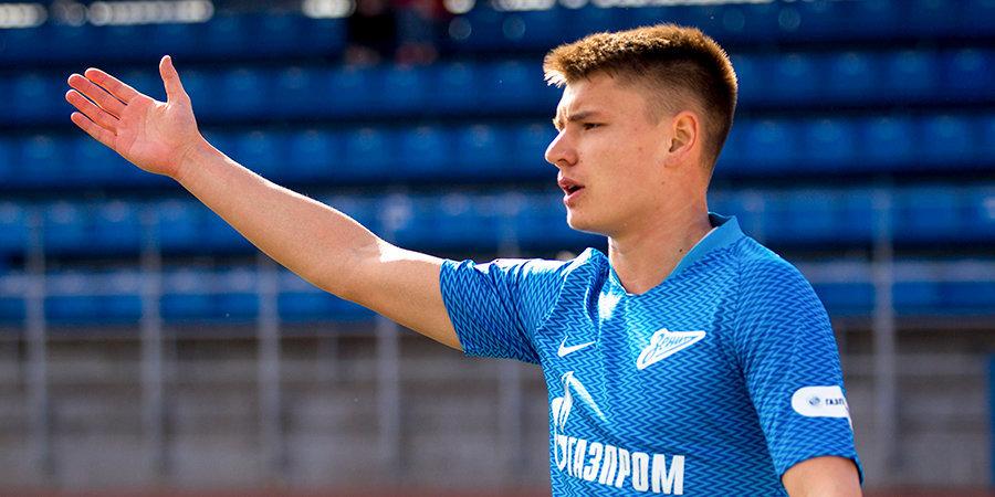 Мостовой признан лучшим игроком матча «Зенит» — «Арсенал»