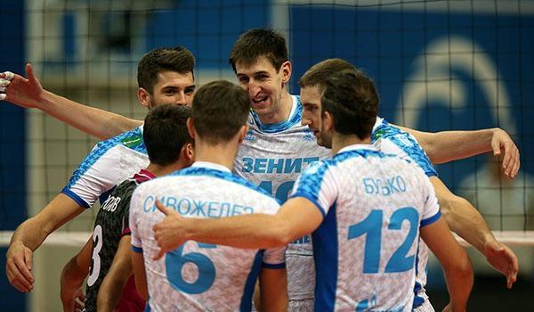 Казанский «Зенит» одержал победу волейбольную Лигу чемпионов