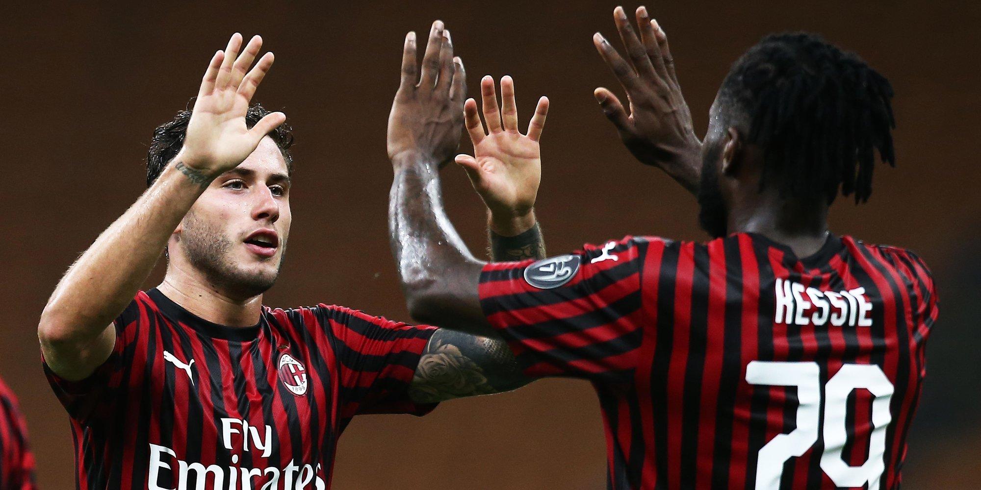 «Милан» ушел от поражения в матче с «Удинезе»