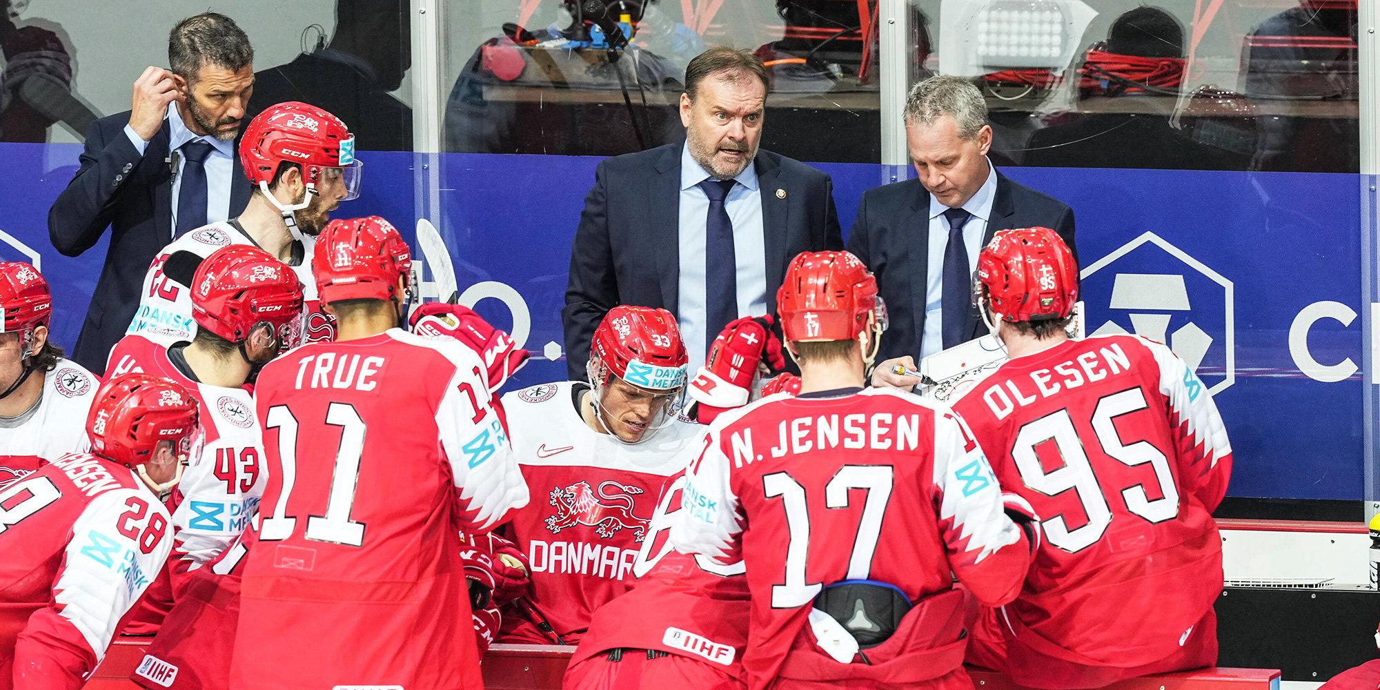 Дания победила Белоруссию на чемпионате мира