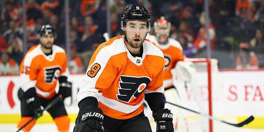 Проворов признан третьей звездой дня в НХЛ