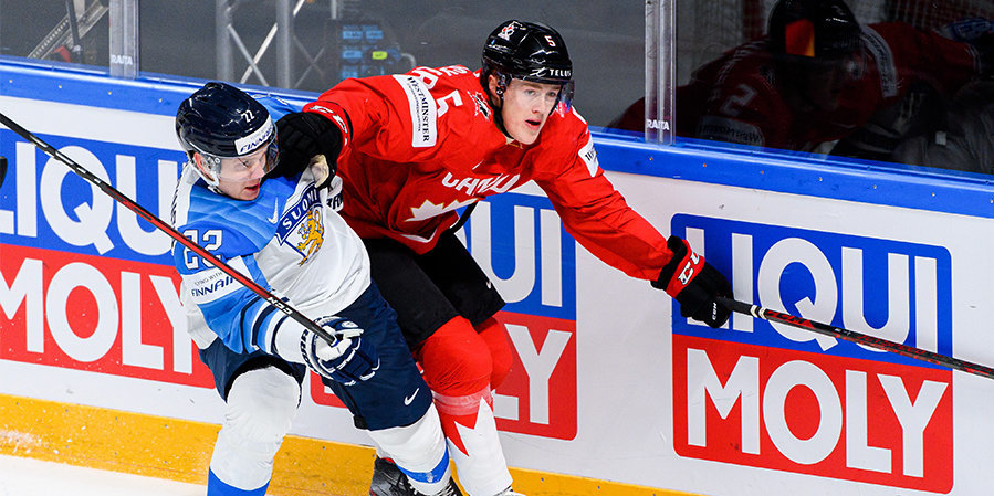 Канада уступила Финляндии по буллитам на ЧМ