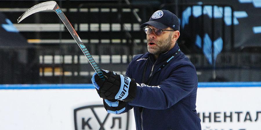 Вудкрофт провел первую тренировку минского «Динамо» после возвращения из самоизоляции
