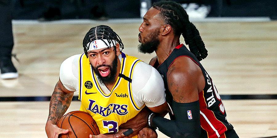 НБА не будет дисквалифицировать Дэвиса на шестой матч финала