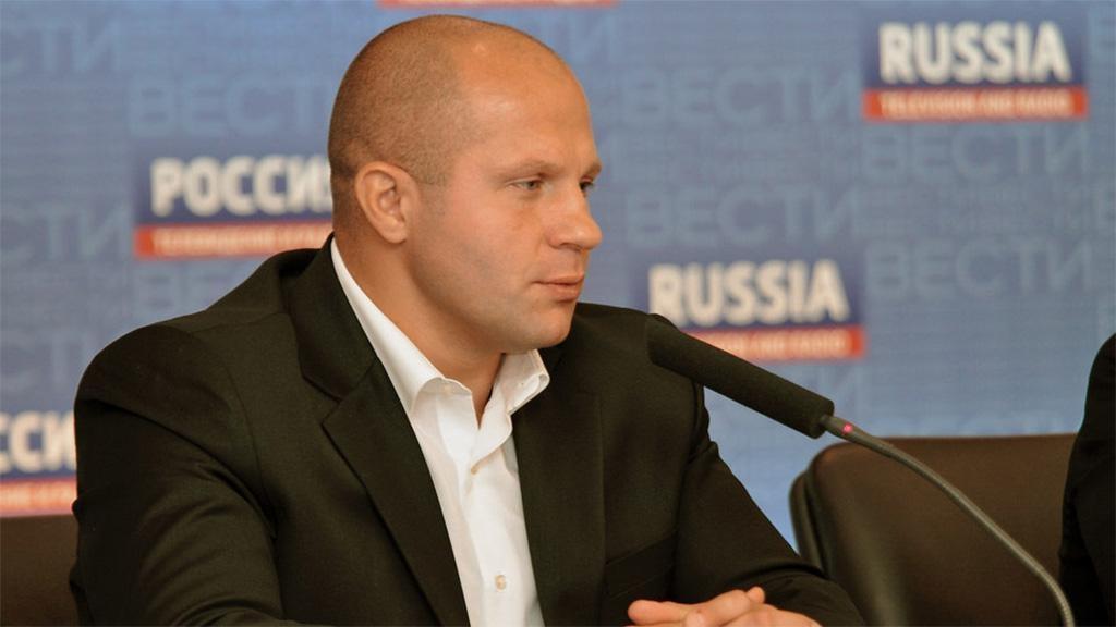 Фёдор Емельяненко ведёт переговоры освоём бое в Российской Федерации