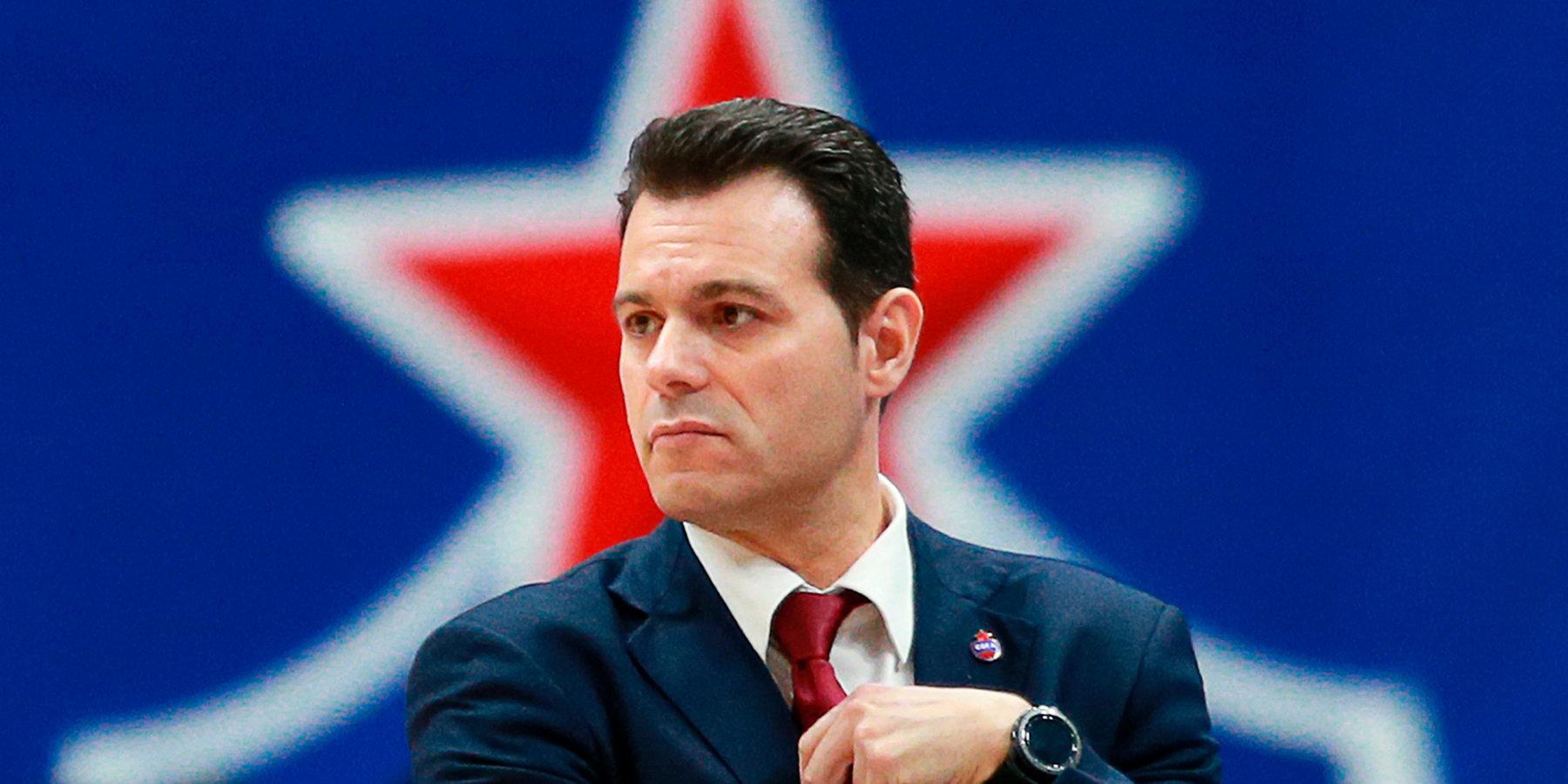 Димитрис Итудис: «Мы играли на полную катушку, но в «Финале четырех» надеемся выступить еще лучше»