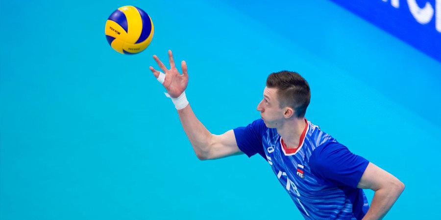 Российские волейболисты обыграли Польшу в Лиге наций