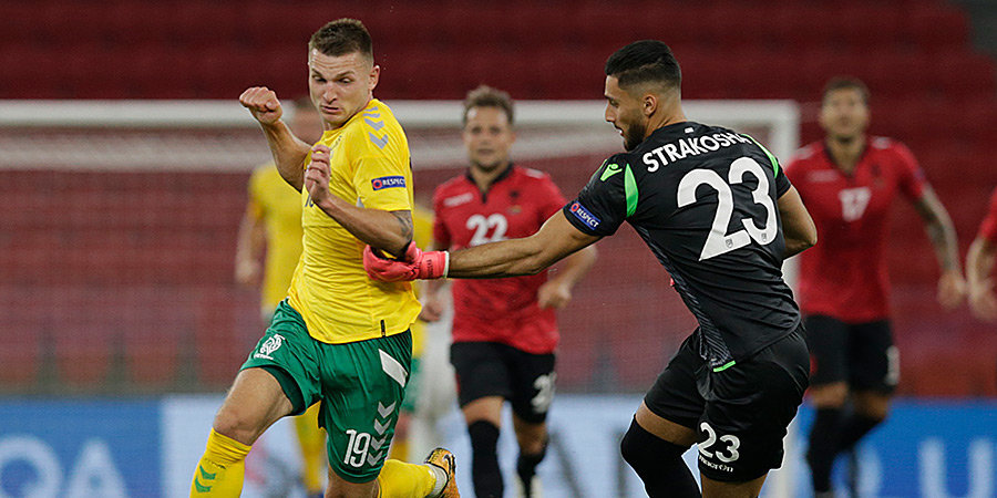Казлаускас принес Литве победу над Албанией