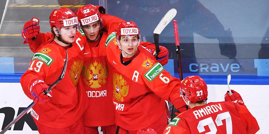 «Постараемся скрасить ваши новогодние праздники своей хорошей игрой на МЧМ». Сборная России записала поздравление из Канады