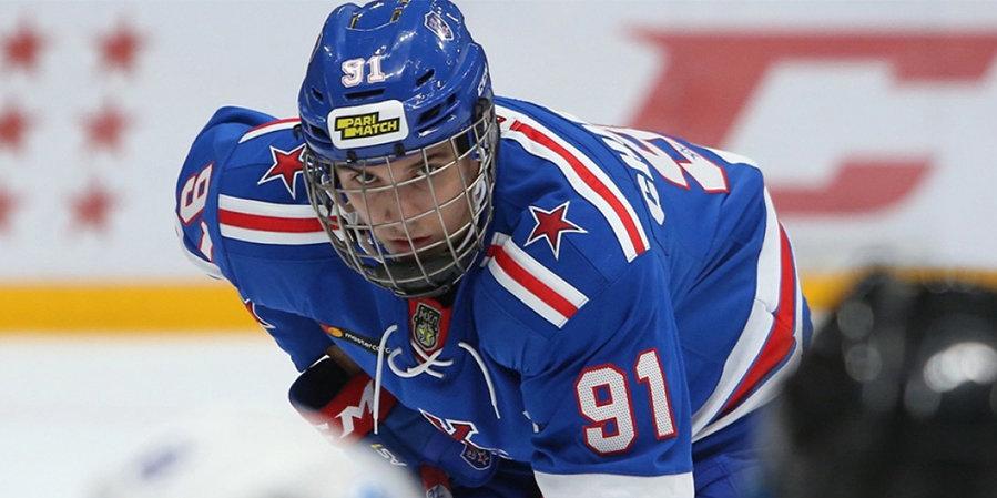 «На меня уже выходили представители клубов». Чибриков — о драфте НХЛ
