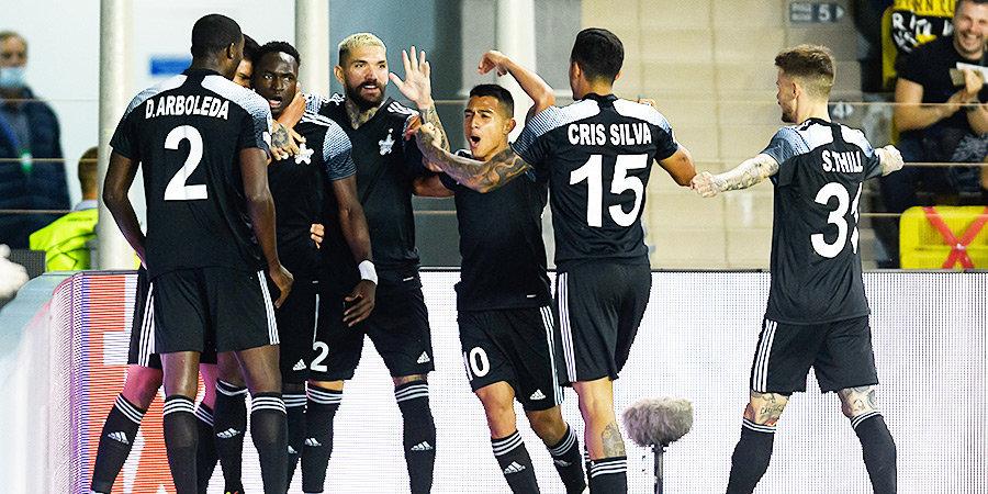 «Шериф» одержал первую в истории победу на групповой стадии Лиги чемпионов