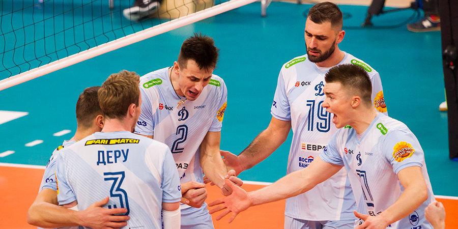 Московское «Динамо» одержало победу над новосибирским «Локомотивом»