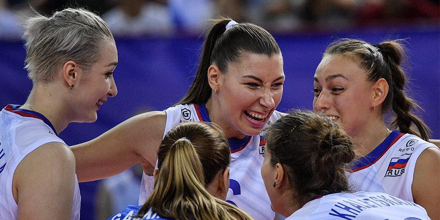 Женская сборная России стартовала с победы над Белоруссией на ЧЕ
