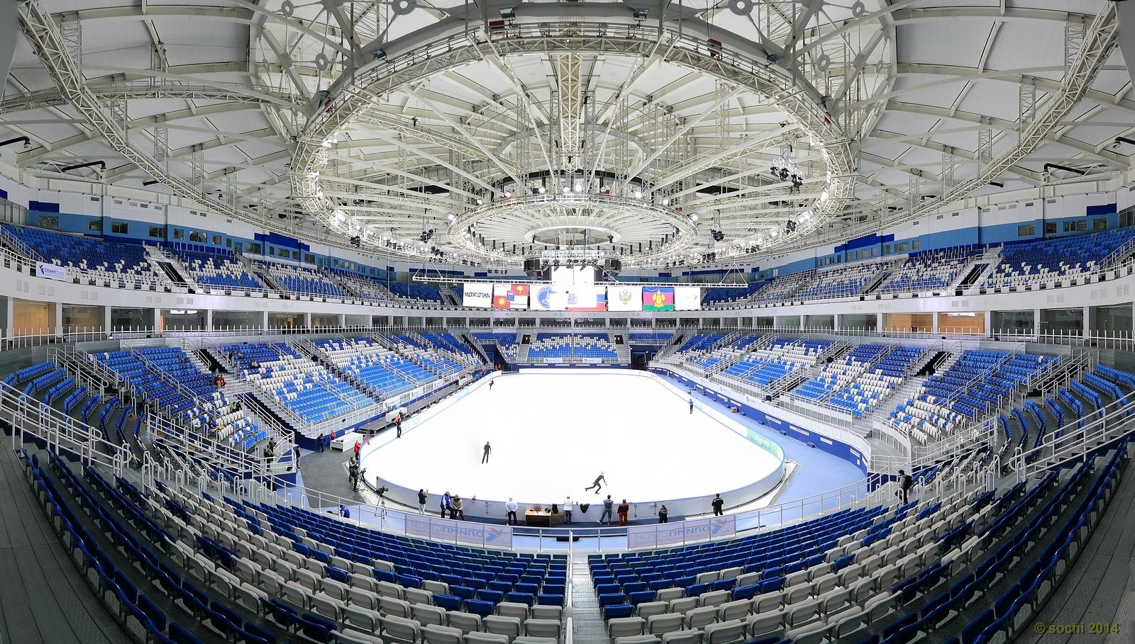 Лдовая арена шайба олимпийские рекорды