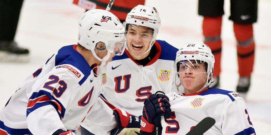 Сборная США обыграла Канаду в финале МЧМ-2021