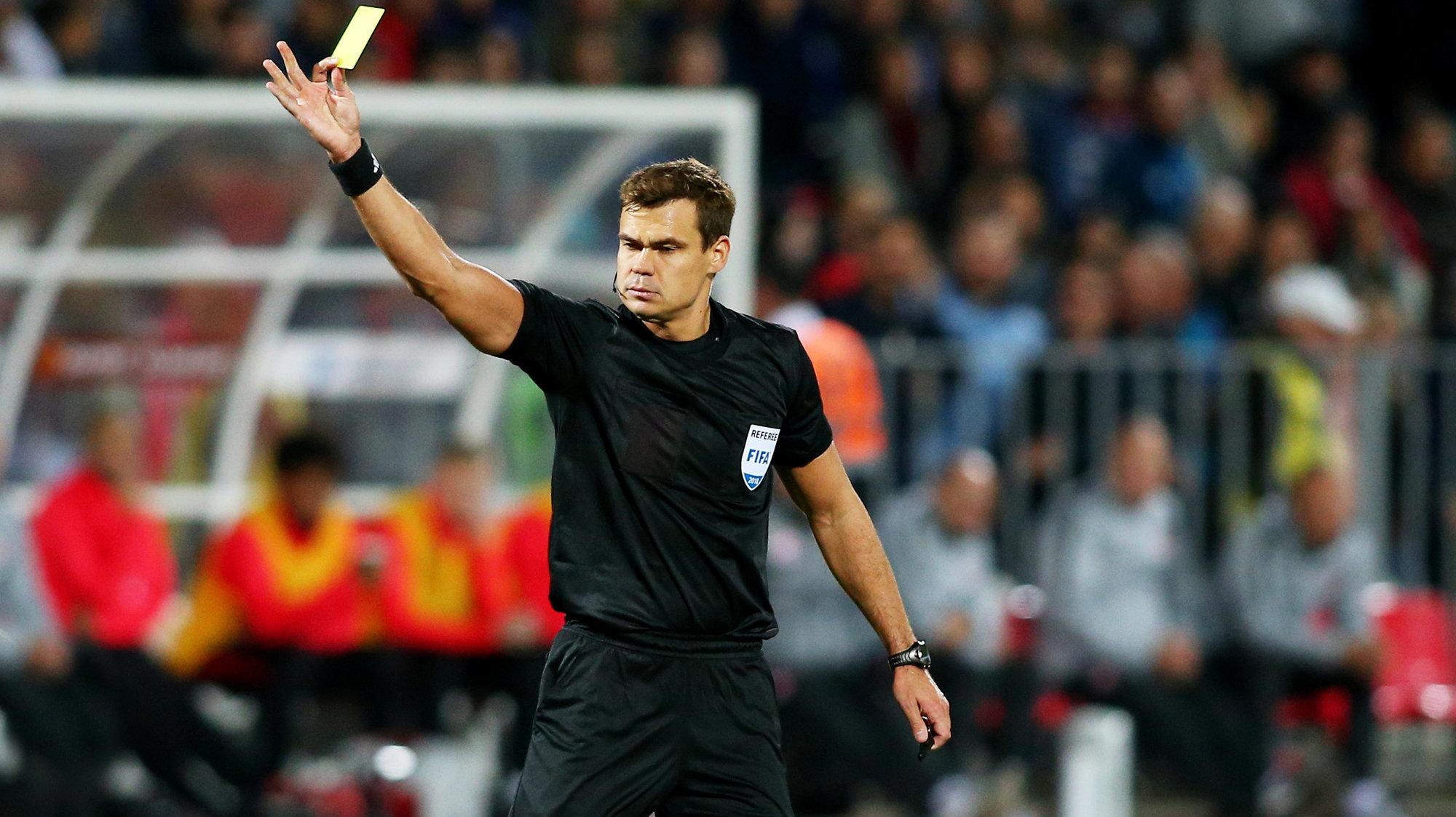 Левников обслужит отборочный матч к ЧМ-2022 между Англией и Сан-Марино