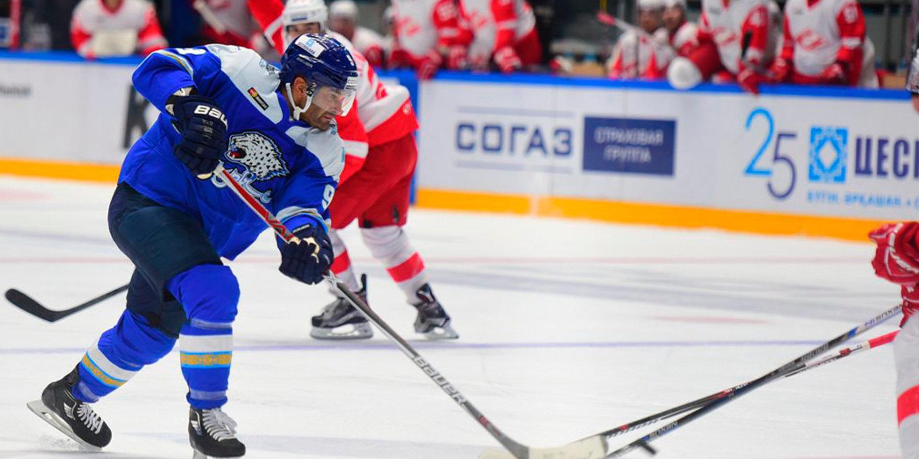 Хоккеист «Барыса» Найджел Доус желает сыграть засборную Казахстана